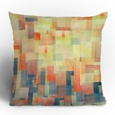 Jacqueline Maldonado Cubism Dream Throw Pillow