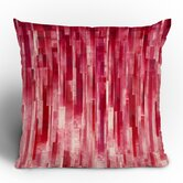 Jacqueline Maldonado Red Rain Throw Pillow