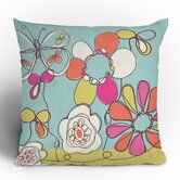 Rachael Taylor Fun Floral Throw Pillow
