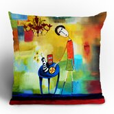 Robin Faye Gates Cheeze It Thank You Throw Pillow