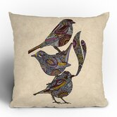 Valentina Ramos 3 Kings Throw Pillow