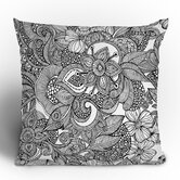 Valentina Ramos Doodles Throw Pillow