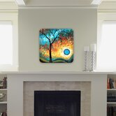 Madart Inc. Aqua Burn Wall Art