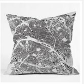 CityFabric Inc Paris Throw Pillow