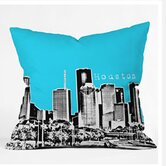 Bird Ave Houston Throw Pillow