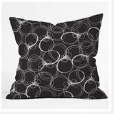 Rachael Taylor Circles Throw Pillow
