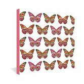 Bianca Green Butterflies Fly Gallery Wrapped Canvas