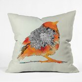 Iveta Abolina Polyester Bird Indoor/Outdoor Throw Pillow