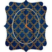 Arcturus Quatrefoil Wall Clock