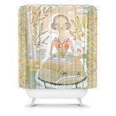 Cori Dantini Always Thoughtful Shower Curtain