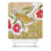 Cori Dantini Sweet Meadow Bird Shower Curtain