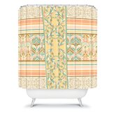 Jacqueline Maldonado Vintage Stripe Shower Curtain