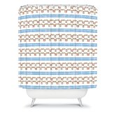 Jennifer Denty Anchor Small Shower Curtain