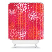 Khristian A Howell Brady Dots 2 Shower Curtain