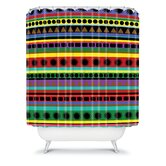 Romi Vega Heavy Pattern Shower Curtain