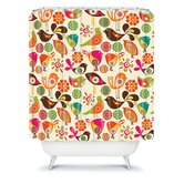 Valentina Ramos Little Birds Shower Curtain