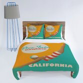 Anderson Design Group Dive California Duvet Cover Collection