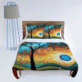 Madart Inc. Aqua Burn Duvet Cover Collection