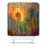 Madart Inc. Glorious Colors Shower Curtain
