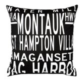 Hamptons 5 Line Pillow