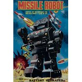 Missile Robot Canvas Art