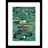 Solomon - Song of Songs Framed and Matted Print