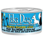 North Shore Luau Wild Salmon on Brown Rice Wet Dog Food