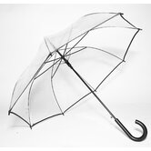 Auto-Open Clear Umbrella