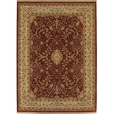 Gallery Garden Fantasy Red Rug