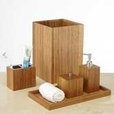 Bamboo Bath and Vanity Set