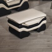 Miami Leather Footstool