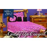 Giddy Up Cowgirl Bedspread Collection