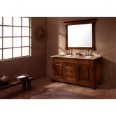 Marlisa 60&quot; Double Bathroom Vanity