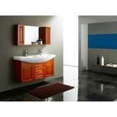 "Winola 47.25"" Double Bathroom Vanity"