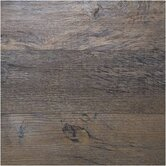 Home Design 6&quot; X 36&quot; Luxury Vinyl Plank in Burnished Oak