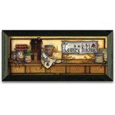 Country Kitchen Shelf Art Print Wall Art