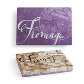 Vino and Fromage Infinity Rectangular Serving Tray
