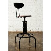 V19C Counter Stool with Backrest
