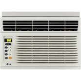 6000 BTU Energy Star Window-Mounted Air Conditioner with Remote