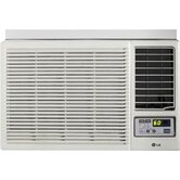 7000 BTU Window-Mounted Air Conditioner with Supplemental Heat and Remote