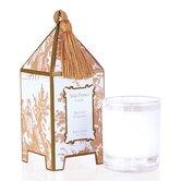 Classic Toile Elegant Gardenia Pagoda Candle