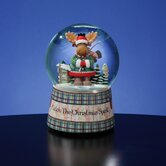 """Catch the Christmas Spirit"" Snow Globe"