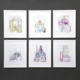 Dransfield Bright Scenes Wall Art (Set of 6)