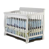 Ashton 4 in 1 Convertible Crib in White