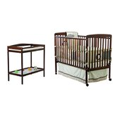 Crib N Changer 2-in-1 Convertible Crib and Changing Table Combo