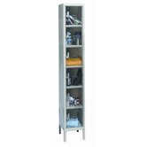 Safety-View Plus Stock Lockers - Six Tiers - 1 Section (Assembled)