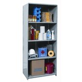 Hi-Tech Shelving Medium-Duty Closed Type Starter Unit with 5 Shelves