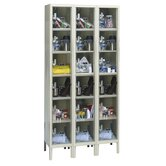 Safety-View Plus Locker 6 Tier 3 Wide (Assembled)