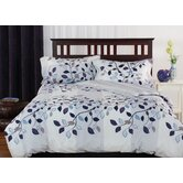 Redfern 100% cotton 3 piece queen duvet cover set