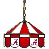 "NCAA 16"" Stained Glass Swag Lamp"